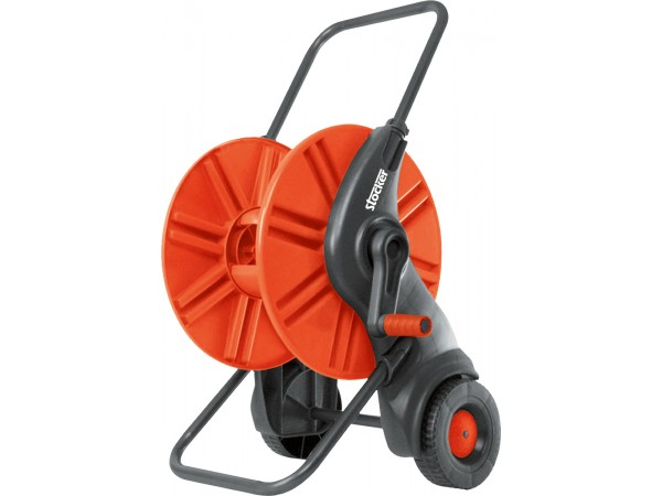 Carucior-tambur pentru furtun gradina