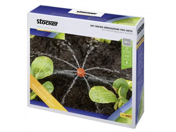 Set microirigare pentru gradina vegetala cu tub Ø13-16 mm