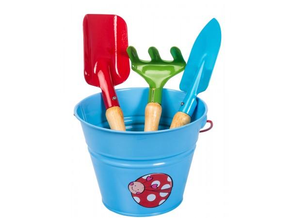 Set complet de unelte de gradina pentru copii KIDS GARDEN