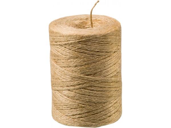 Fir biodegradabil din fibra de iuta 100% Jutec, 250 m