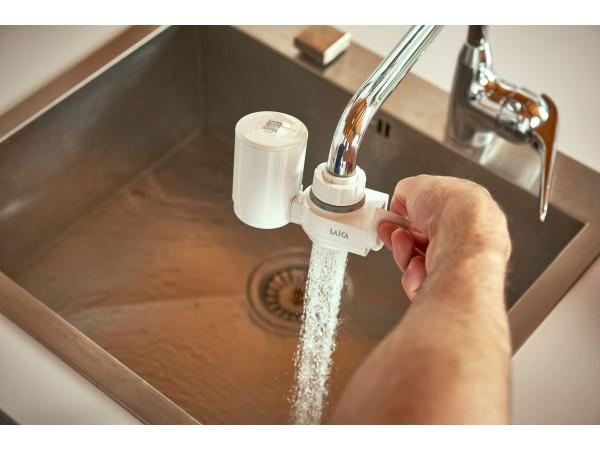 Filtru de apa cu fixare pe robinet Laica Venezia HydroSmart