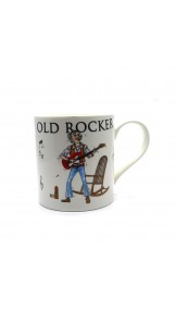 Cana Rocker batran cu chitara