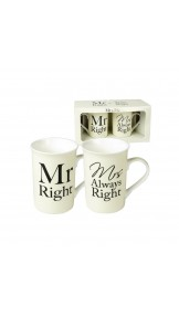 Set cani Mr.Right si Mrs. Always Right